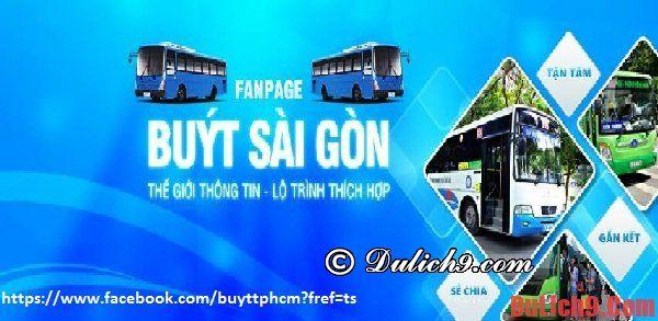 Bỏ túi kinh nghiệm du lịch Sài Gòn bằng xe bus