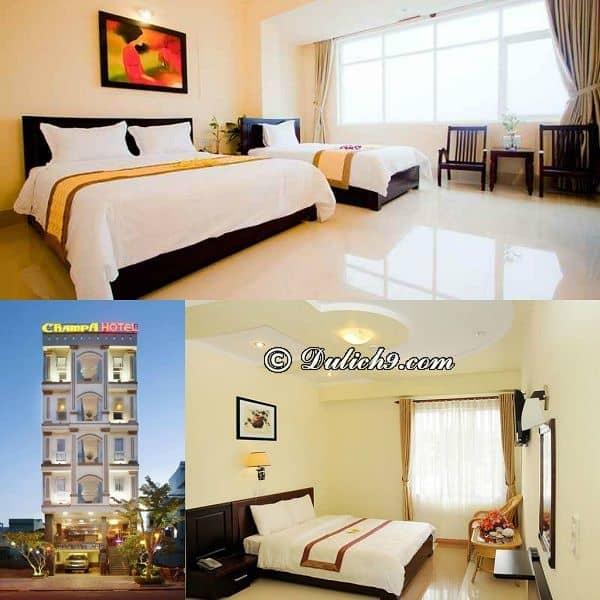 Khách sạn giá rẻ, tốt, vị trí đẹp ở Đà Nẵng nên ở, rất uy tín: Khách sạn Champa Đà Nẵng