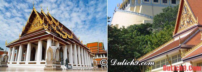 Những ngôi chùa nên ghé thăm khi du lịch Thái Lan