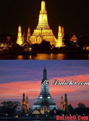 Du lịch Thái Lan nên đi chùa nào tham quan? Những ngôi chùa đẹp, nổi tiếng ở Thái Lan
