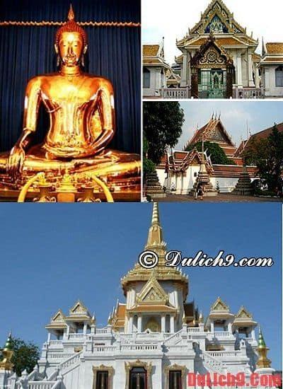 Du lịch Thái Lan đi chùa nào tham quan? Những ngôi chùa đẹp, nổi tiếng nhất ở Thái Lan