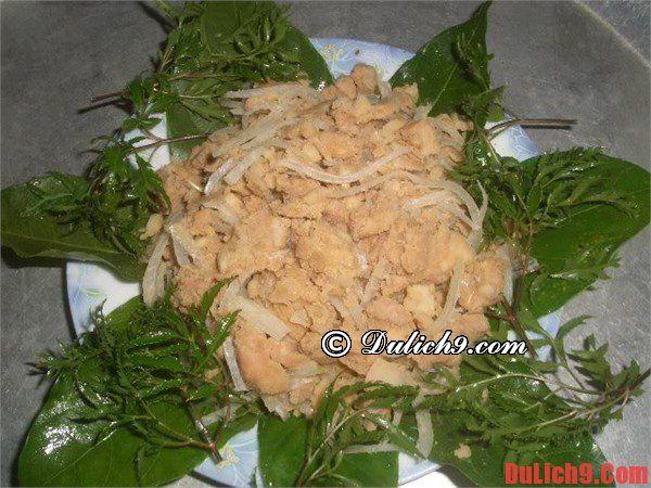 Sá sùng, sam biển, chả mực...là đặc sản ẩm thực Hạ Long