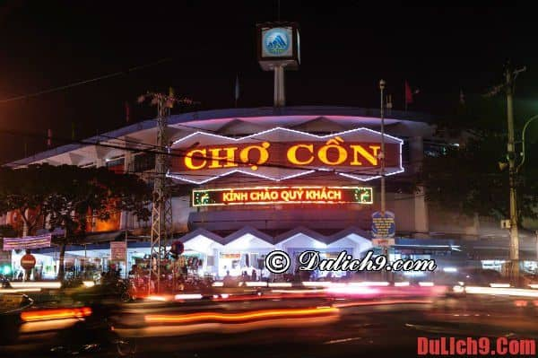 Chợ cồn – địa điểm có nhiều món ăn ngon tại Đà Nẵng