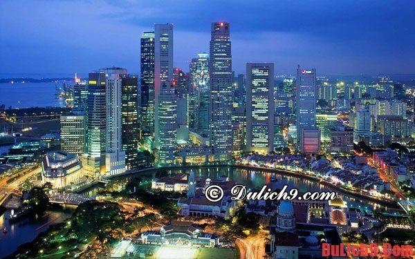 Kinh nghiệm đặt phòng khách sạn ở Singapore: Du lịch Singapore nên ở khách sạn nào? Hướng dẫn cách chọn khách sạn khi du lịch Singapore