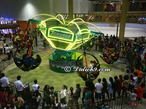 Trung tâm, công viên vui chơi giải trí Đà Nẵng - Kinh nghiệm du lịch Đà Nẵng. Nên đi đâu chơi khi du lịch Đà Nẵng