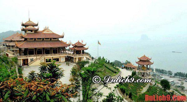 Chùa Cái Bầu - Điểm du lịch nổi tiếng tại Hạ Long