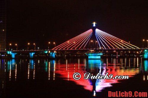 Cầu sông Hàn – địa điểm hấp dẫn khi du lịch Đà Nẵng