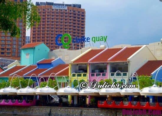 Địa điểm nổi tiếng ở Singapore