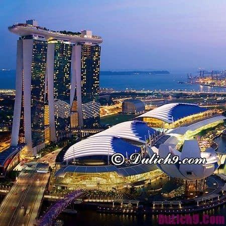 Nên đi đâu khi du lịch Singapore?