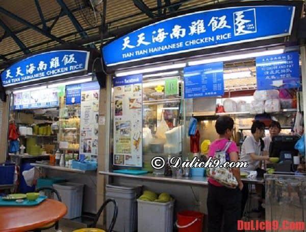 Top những khu ăn uống giá rẻ bậc nhất Singapore