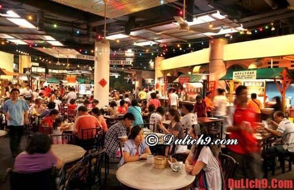 Khu ăn uống giá rẻ thu huté nhiều khách du lịch nhất Singapore