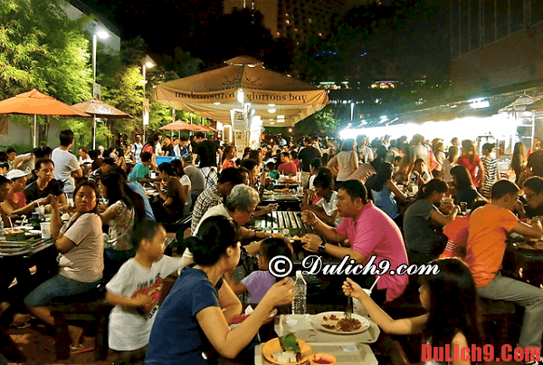 Khu ăn uống giá rẻ hấp dẫn bạn nên đến khi du lịch Singapore