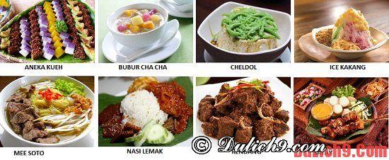 Những món ăn không thể bỏ qua khi du lịch Singapore