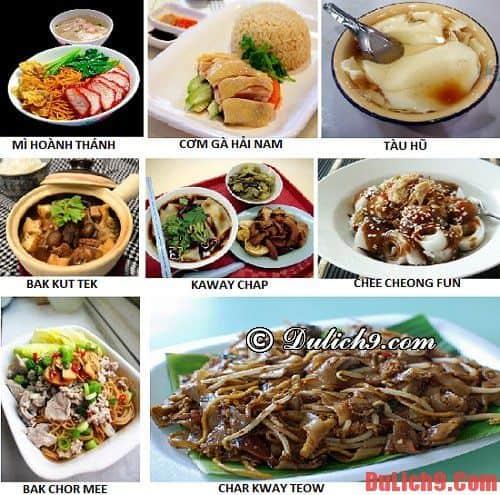 Top món ăn không thể bỏ qua khi du lịch Singapore