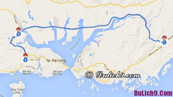 Hướng dẫn du lịch bụi Hạ Long