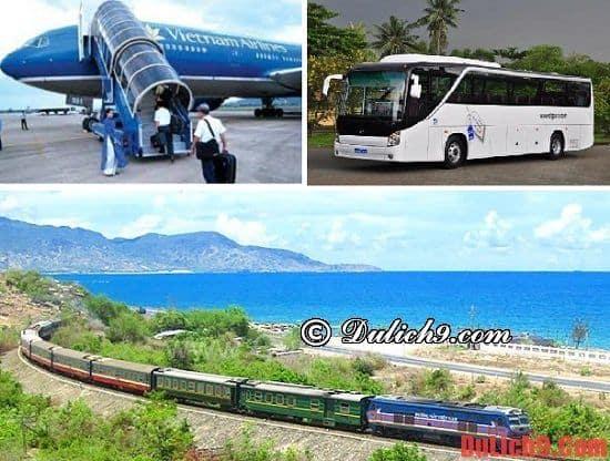 Kinh nghiệm du lịch Huế - phương tiện tới Huế