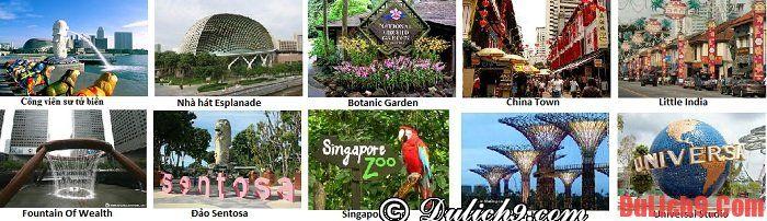 Kinh nghiệm du lịch Singapore tiết kiệm, trải nghiệm