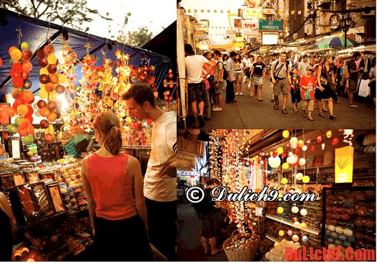 Mua sắm cũng là một kinh nghiệm du lịch Thái Lan cần biết
