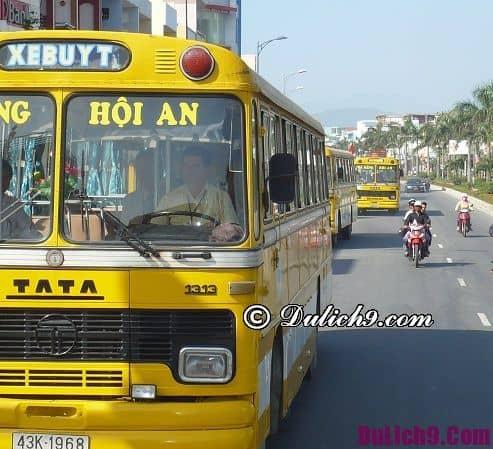 Phương tiện đi lại ở Đà Nẵng - Kinh nghiệm du lịch Đà Nẵng. Đi du lịch Hội An từ Đà Nẵng bằng phương tiện gì?