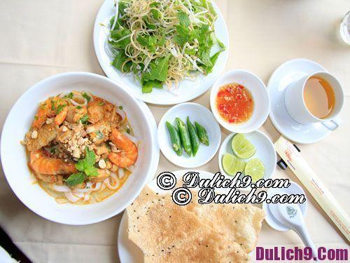 Ăn gì khi du lịch Đà Nẵng? Kinh nghiệm du lịch Đà Nẵng. Món ăn đặc sản ngon, nổi tiếng ở Đà Nẵng