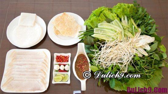 Địa chỉ bánh tráng cuốn thịt heo ngon ở Đà Nẵng - Kinh nghiệm du lịch Đà Nẵng: Món ăn đặc sản ngon, nổi tiếng ở Đà Nẵng