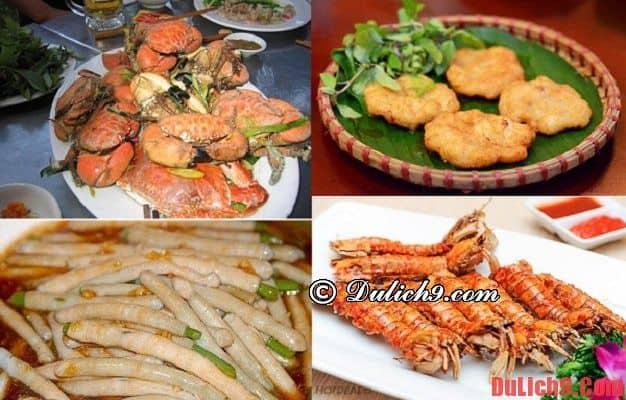 Món ăn khi du lịch Hạ Long