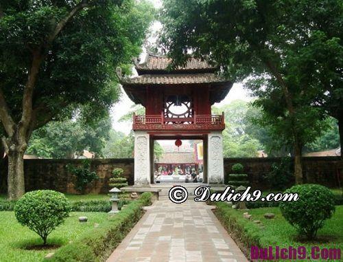 Địa điểm tham quan nổi tiếng ở Hà Nội