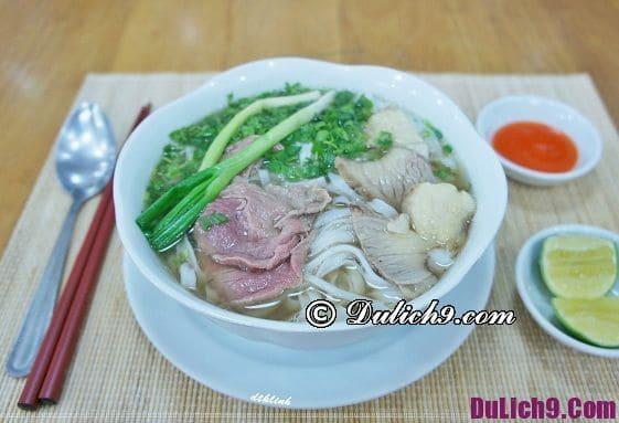 Ăn gì khi du lịch Hà Nội?