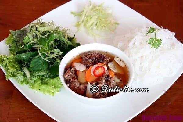 Những món ăn nổi tiếng ở Hà Nội