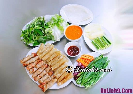 Món ăn vặt ở Nha Trang nổi tiếng