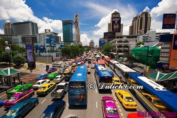 Phương tiện đi lại ở Bangkok - Hướng dẫn du lịch Thái Lan chi tiết nhất