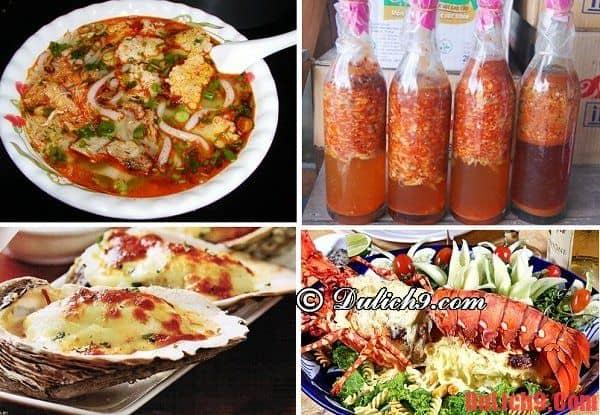 Kinh nghiệm du lịch vịnh Lăng Cô - ẩm thực