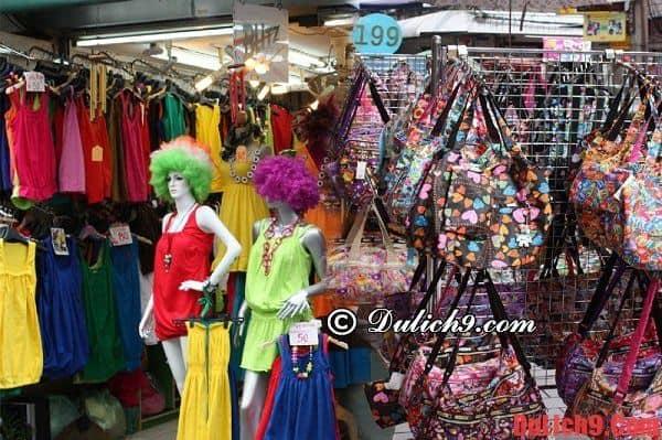 Khu Pratunam – bán hàng may mặc lớn nhất Bangkok - Mua sắm ở đâu Bangkok? Địa chỉ mua sắm giá rẻ, nổi tiếng ở Bangkok