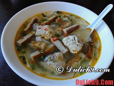 Các món ăn ngon khi du lịch Nha Trang không nên bỏ qua
