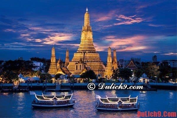 Bangkok thủ đô Thái Lan là điểm du lịch hấp dẫn