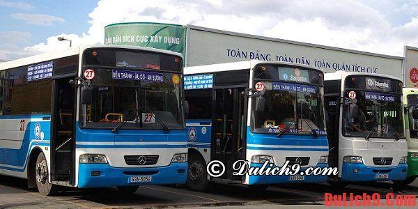 Kinh nghiệm đi xe bus khi du lịch Sài Gòn: Đi xe bus khi du lịch Sài Gòn như thế nào?