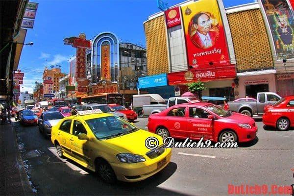 Chia sẻ những kinh nghiệm khi bắt taxi du lịch Bangkok