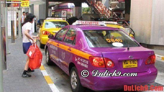 Một vài kinh nghiệm bắt taxi du lịch Bangkok