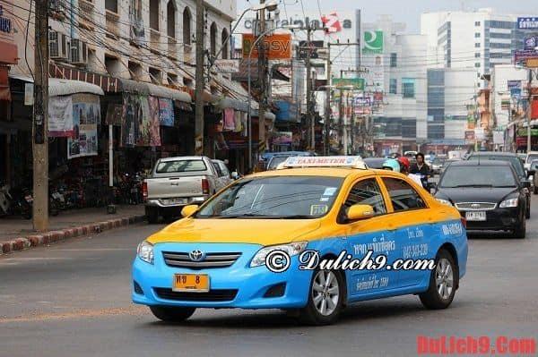 Cách bắt taxi khi du lịch Bangkok như thế nào?