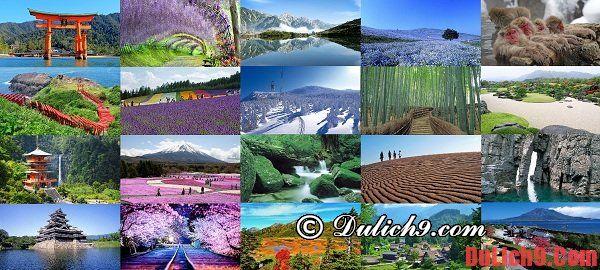 Kinh nghiệm du lịch Nhật Bản tự túc, giá rẻ