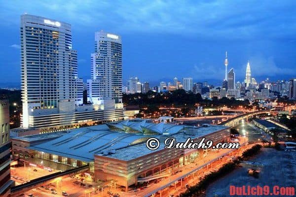 Những khách sạn chất lượng, giá rẻ và tiện nghi ở Malaysia