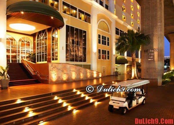 Những khách sạn giá rẻ, chất lượng, tiện nghi tại Bangkok