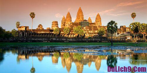 Kinh nghiệm du lịch Campuchia: Chi phí, lịch trình, đường đi, thủ tục, lưu ý, ăn uống v.v