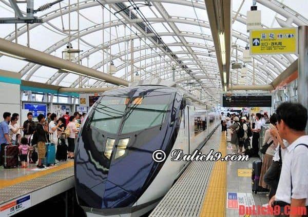 Một số hướng dẫn bổ ích cho người lần đầu đi tàu cao tốc khi du lịch Nhật Bản: Kinh nghiệm di chuyển ở Nhật Bản bằng tàu cao tốc