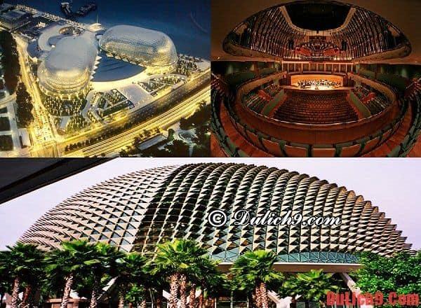Du lịch Singapore ghé thăm 5 công trình kiến trúc đẹp ngỡ ngàng