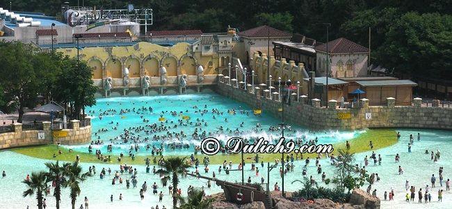 Công viên, khu vui chơi giải trí ở Hàn Quốc