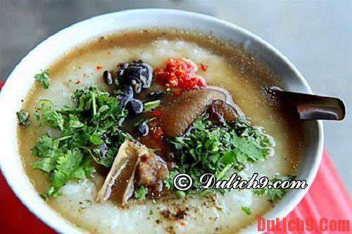 Cháo Ấu tẩu - món ngon độc đáo nhất ở Hà Giang
