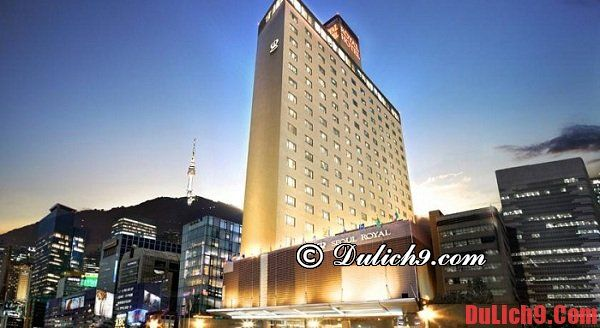 Đặt phòng khách sạn cao cấp khi du lich Seoul