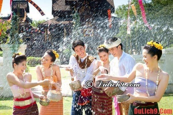 Bangkok – địa điểm hấp dẫn diễn ra Lễ Hội té nước Songkran
