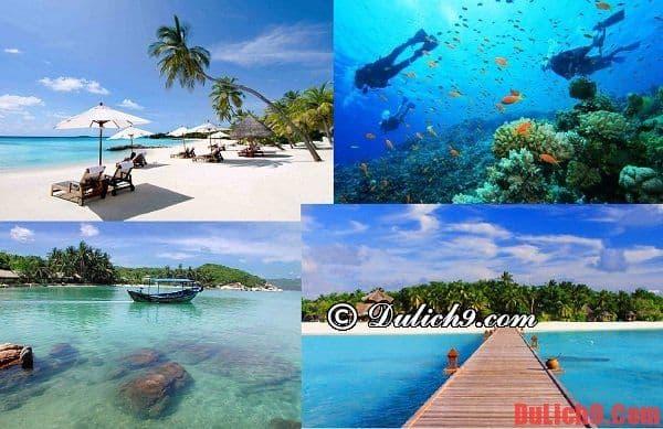 Nha Trang, địa điểm du lịch biển tuyệt vời cho mùa hè. Những bãi biển đẹp, nổi tiếng nên tới dịp nghỉ hè